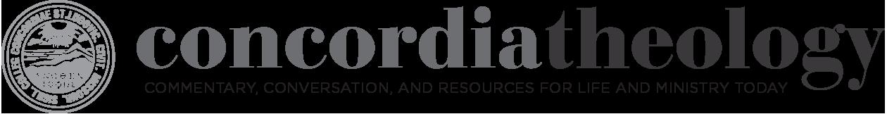 Concordia Theology