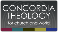 Share Concordia Theology (Dark Button)