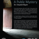 "Reflections on Oswald Bayer, ""A Public Mystery"""