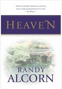 Randy Alcorn's Heaven, one of the four choices for the Book Club