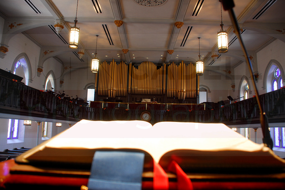 View from a pulpit