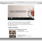 "New video reading guide for ""A Case for Character"""