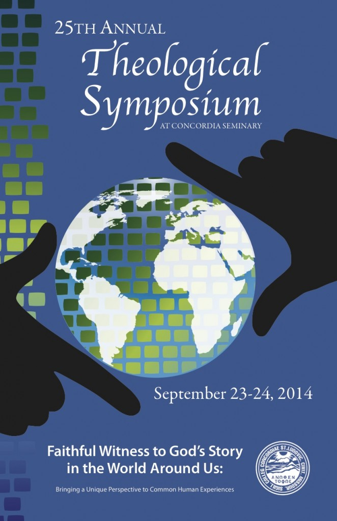 Theological Symposium – Sept 23-24, 2014