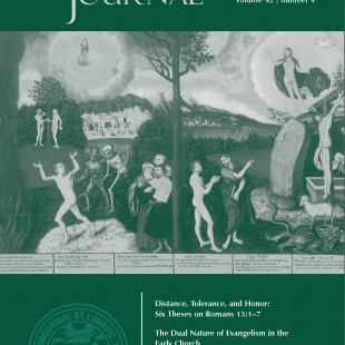 Concordia Journal, Fall 2016